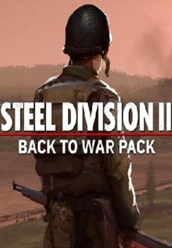 Steel Division 2 - Back To War Pack (DLC) Steam Key GLOBAL