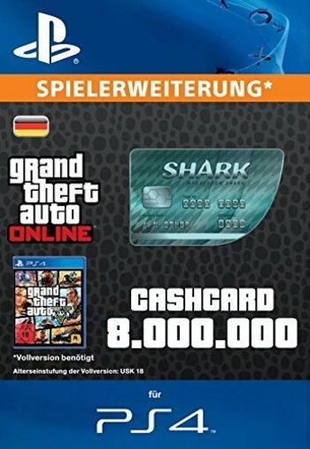Grand Theft Auto Online: Megalodon Shark Cash Card (PS4) PSN Key GERMANY