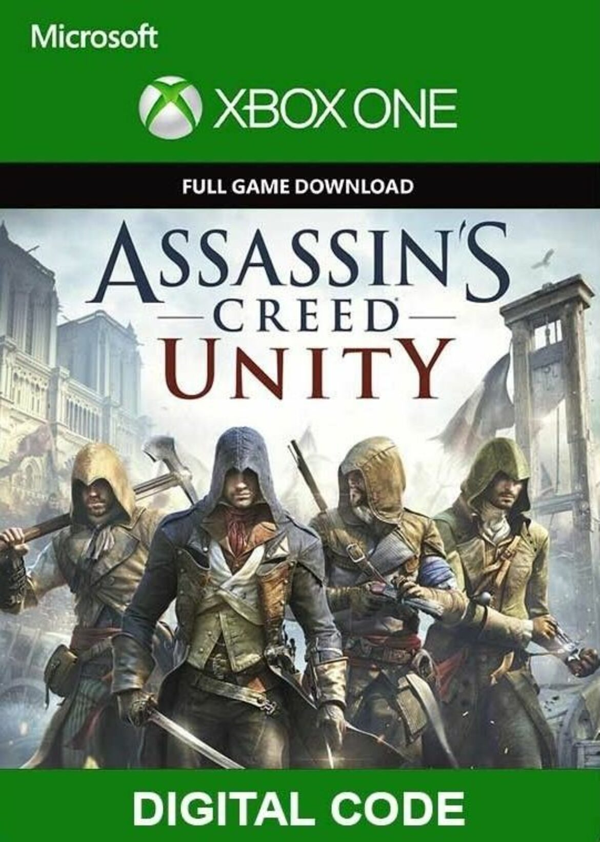 Buy Assassin S Creed Unity Xbox One Key For Cheaper Eneba