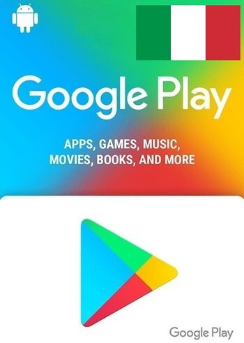 Google Play Gift Card 5 EUR (IT) Key ITALY