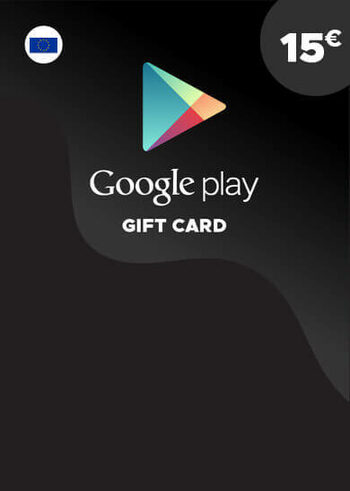 Google Play Gift Card 15 EUR Key EUROPE