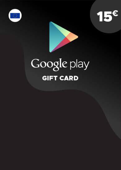 Google Play Gift Card 15 EUR Key EUROPA