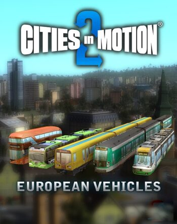 Cities in Motion 2 - European vehicle pack (DLC) Steam Key GLOBAL