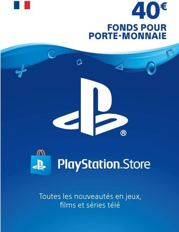 Carte PlayStation Network 40 EUR (FR) Carte PSN FRANCE