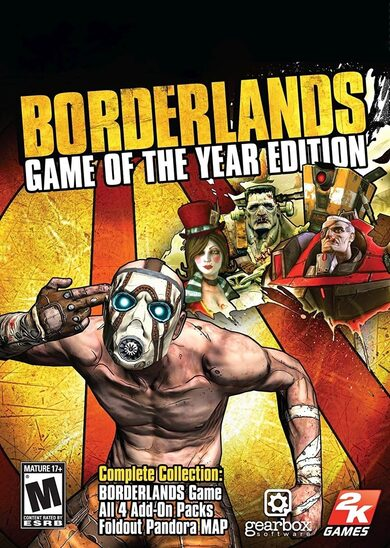 Borderlands (GOTY) Steam Key GLOBAL