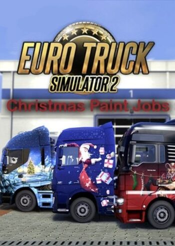 Euro Truck Simulator 2 - Christmas Paint Jobs Pack (DLC) Steam Key GLOBAL