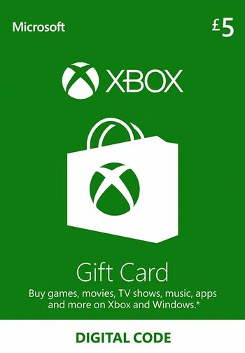 Xbox Live Gift Card 5 GBP Xbox Live Key UNITED KINGDOM