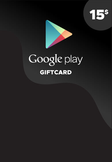Google Play Gift Card 15 USD Key NORTH AMERICA