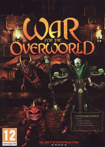 War for the Overworld Underlord Edition Steam Key GLOBAL