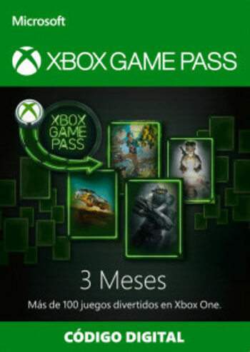 Xbox Game Pass 3 months Xbox Live Key CHILE
