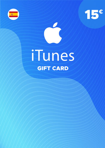 Apple iTunes Gift Card 15 EUR iTunes Key SPAIN