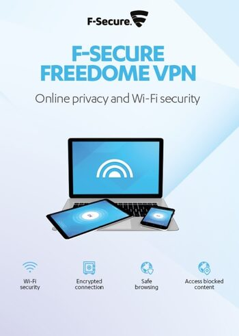 F-Secure Freedome VPN 3 Devices 1 Year Key GLOBAL