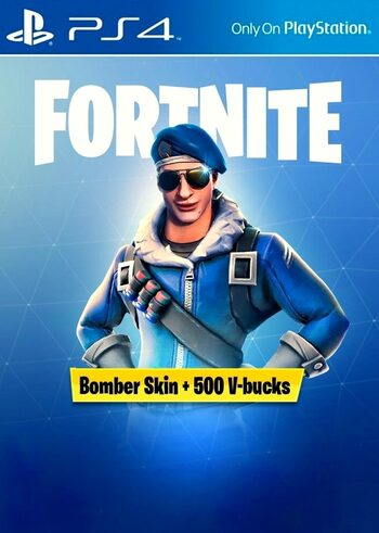 Fortnite: Bomber Pack + 500 V-Bucks (PS4) PSN Key EUROPE