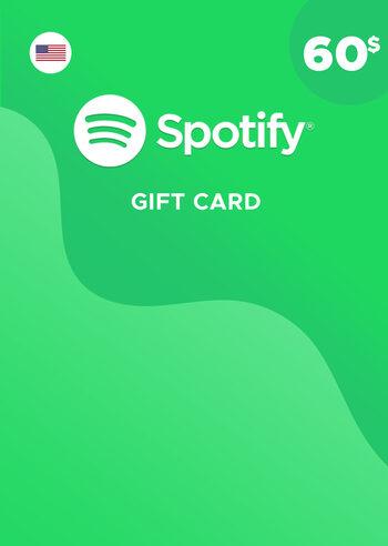 Spotify Gift Card 60 USD Key UNITED STATES