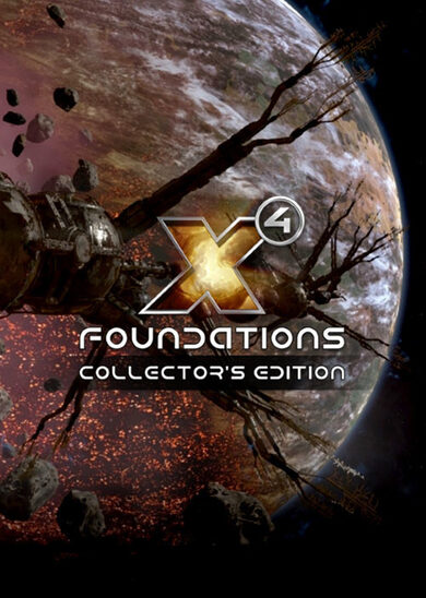X4: Foundations (Collector's Edition) Steam Key GLOBAL