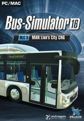 Bus Simulator 16 - MAN Lion's City CNG Pack (DLC) Steam Key GLOBAL