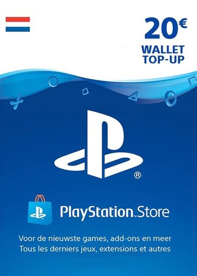 PlayStation Network Card 20 EUR (NL) PSN Key NETHERLANDS