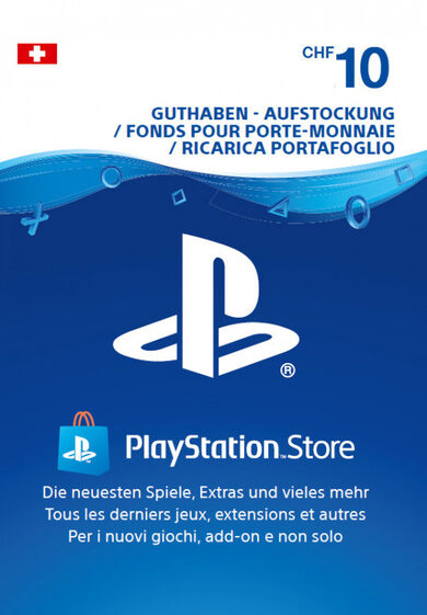 Playstation Network Card 10 CHF (CH) PSN Key SWITZERLAND
