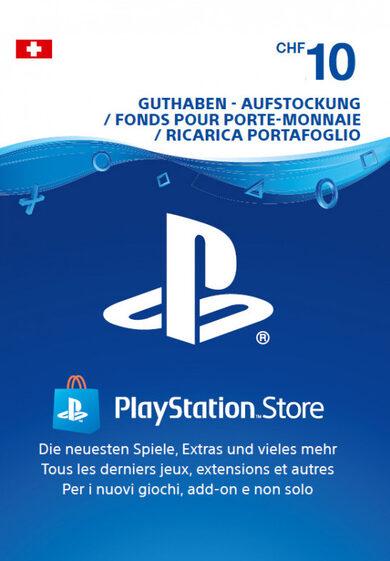 Playstation Network Card 10 CHF (CH) PSN Key SWITZERLAND