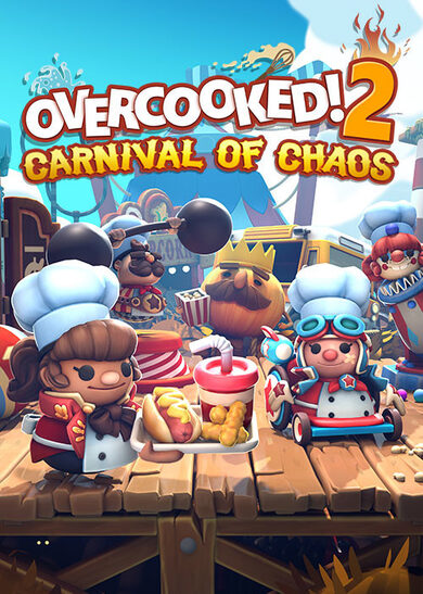 Overcooked! 2 - Carnival of Chaos (DLC) Steam Key GLOBAL фото