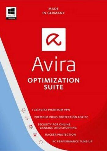 Avira Optimization Suite 1 Device 1 Year Avira Key GLOBAL