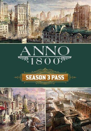 Anno 1800 Season 3 Pass (DLC) Uplay Key EUROPE
