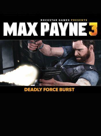 Max Payne 3 - Deadly Force Burst (DLC) Steam Key EUROPE