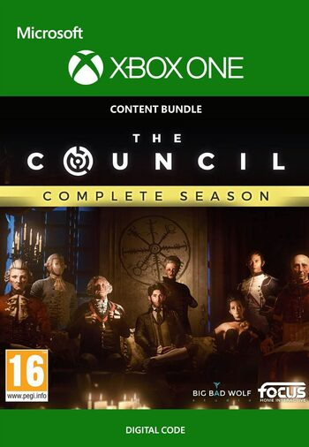 The Council Complete Season XBOX LIVE Key UNITED STATES