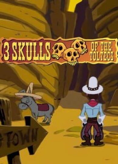 Fenimore Fillmore: 3 Skulls of the Toltecs Steam Key GLOBAL