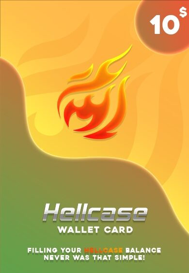 Hellcase.com Wallet Card 10 USD Key GLOBAL