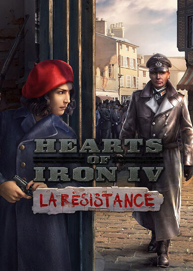 Hearts of Iron IV - La Résistance (DLC) Steam Key GLOBAL
