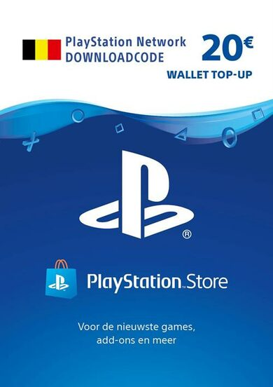 PlayStation Network Card 20 EUR (BE) PSN Key BELGIUM