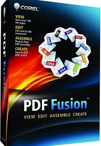 Corel PDF Fusion (Windows) 1 Device Lifetime Key GLOBAL