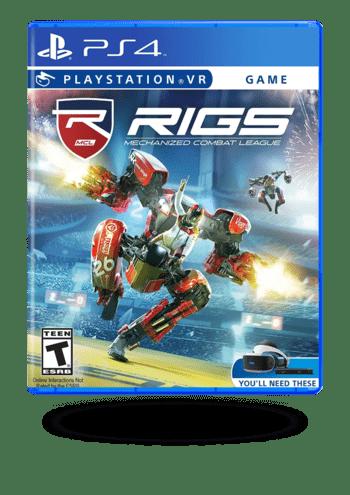 RIGS Mechanized Combat League PlayStation 4