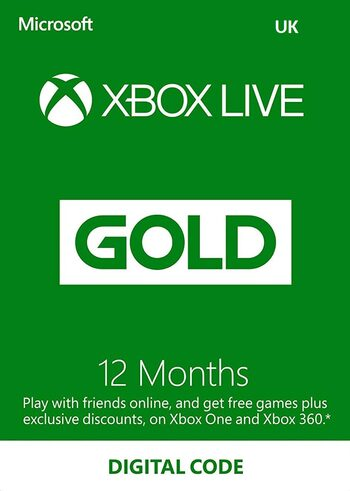 Xbox Live Gold 12 months Xbox Live Key UNITED KINGDOM