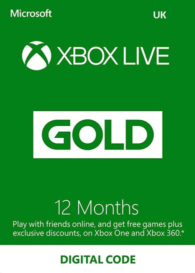 Xbox Live Gold 12 months Xbox Live Key UNITED KINGDOM фото