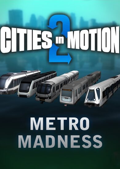 Cities in Motion 2 - Metro Madness (DLC) Steam Key GLOBAL