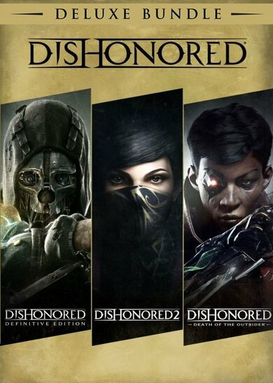 Dishonored: Deluxe Bundle Steam Key EUROPE