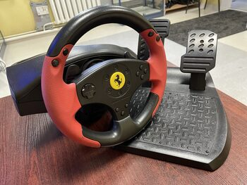 Thrustmaster Ferrari Racing Wheel, vairas su pedalais PS3 ir PC V21