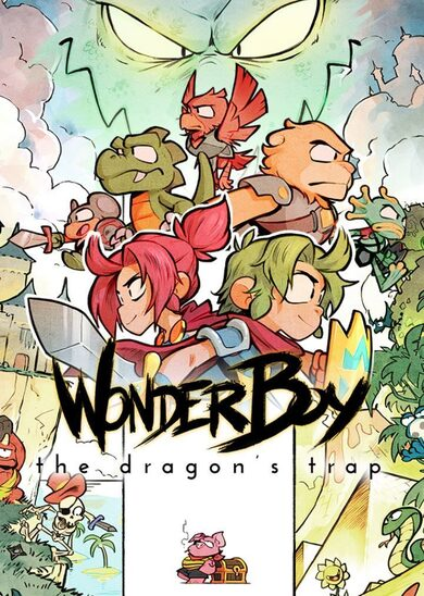 Wonder Boy: The Dragon's Trap Steam Key GLOBAL