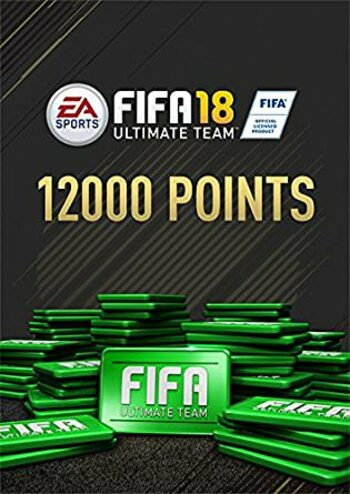 Fifa 18 - 12000 FUT Points Origin Key GLOBAL