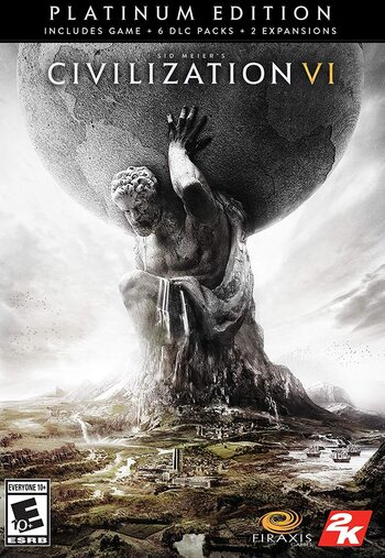Sid Meier's Civilization VI: Platinum Edition Bundle Steam Key GLOBAL