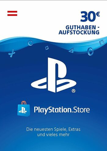 PlayStation Network Card 30 EUR (AT) PSN Key AUSTRIA