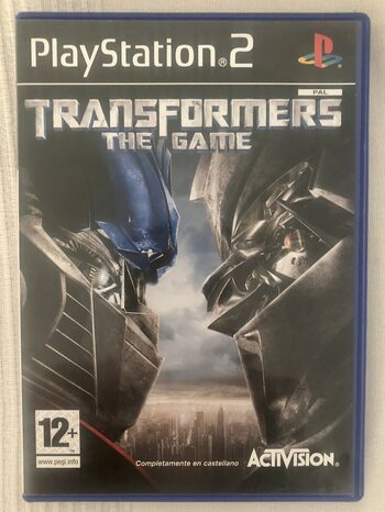 Transformers: The Game PlayStation 2