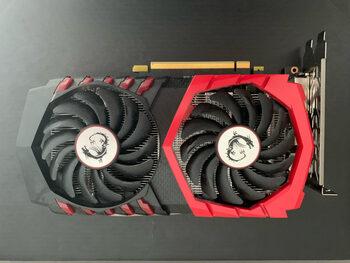 MSI GeForce GTX 1050 Ti 4 GB 1290-1493 Mhz PCIe x16 GPU