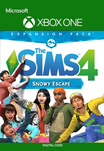 The Sims 4: Snowy Escape Expansion Pack  (DLC) XBOX LIVE Key UNITED STATES
