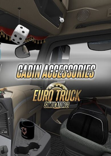 Euro Truck Simulator 2 - Cabin Accessories (DLC) Steam Key GLOBAL