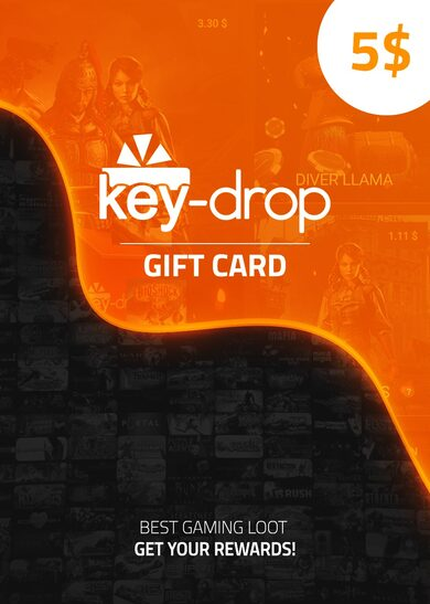 Key-Drop.com Gift Card 5 USD Key GLOBAL