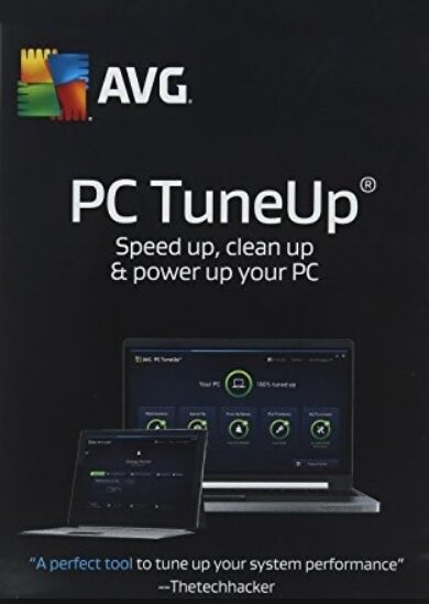 AVG PC TuneUp 1 User 1 Year AVG Key GLOBAL
