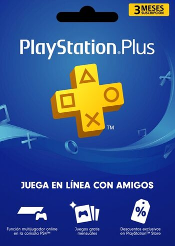 PlayStation Plus Card 90 Days (CL) PSN Key CHILE